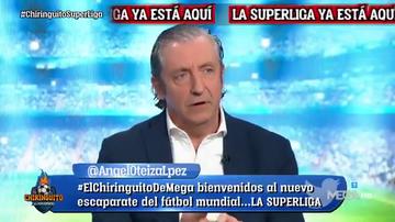 """Pedrerol, tajante: """"Tebas amenaza con echar a Barça, Madrid y Atleti de LaLiga.. a ver cómo la vende luego"""""""