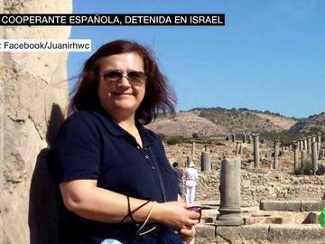 """Juana Ruiz, detenida desde el 13 de abril en Israel sin motivo y sin cargo alguno en su contra: """"Se produjo una invasión militar en su domicilio y se la llevaron"""""""