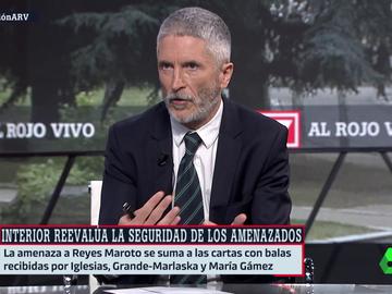 """Marlaska reconoce que la carta con balas le recordó a las amenazas de ETA: """"No sentí pena ni miedo, pero sí desánimo"""""""