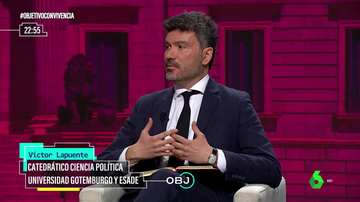 """Víctor Lapuente (politólogo): """"El 'problema' de los españoles es que esperamos mucho de la democracia"""""""