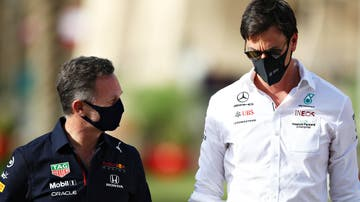 Christian Horner y Toto Wolff