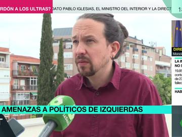 Pablo Iglesias amenazas