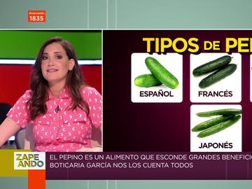 Las propiedades desconocidas del pepino: Boticaria García explica cómo sacarle partido a esta hortaliza