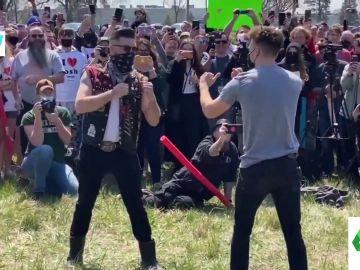 La surrealista pelea masiva entre todos los 'Josh' de EEUU: quien pierda debe cambiar de nombre