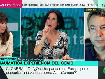 """El tajante mensaje de Beatriz de Vicente a los negacionistas tras superar el coronavirus: """"No lo sean con el prójimo, sería casi como cometer un delito"""""""