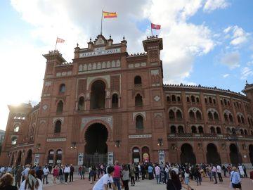 Foto de archivo de la Plaza de Toros de Las Ventas en Madrid