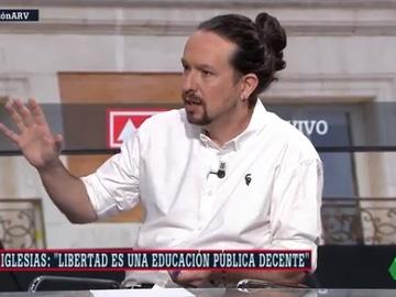 Entrevista a Pablo Iglesias en Al Rojo Vivo