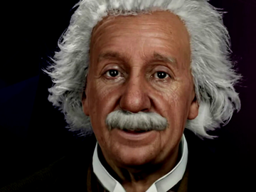 """La inteligencia artificial logra 'resucitar' a Einstein y el resultado sorprende a Dani Mateo: """"Es un meme de los que me manda mi madre"""""""