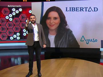 """Ayuso, la """"clara ganadora del buzoneo"""" con una carta electoral con una sola palabra: """"Libertad"""""""