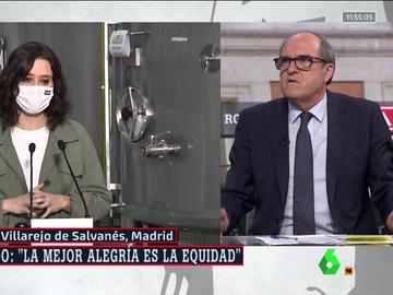 """Gabilondo responde al discurso de """"la alegría"""" de Ayuso y dice que ve en ella """"el discurso de Vox interiorizado"""""""
