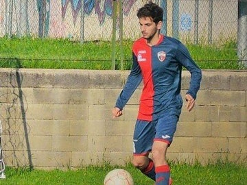 Samuele De Paoli, futbolista de 22 años del Bastia 1924 de la Serie D