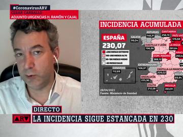 César Carballo en Al Rojo Vivo