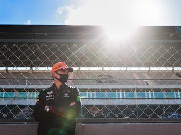 Max Verstappen en Portimao