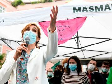 La candidata por Más Madrid a la presidencia de la Comunidad de Madrid, Mónica García