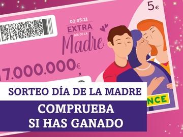 Comprobar resultados del Sorteo Extra Día de la Madre de la ONCE de hoy