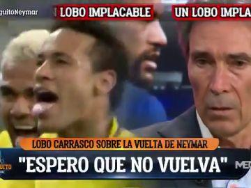 """Lobo Carrasco: """"Espero que Neymar no venga al Barça"""""""