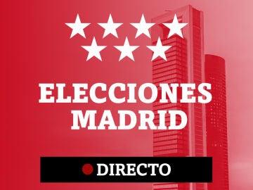 Elecciones en Madrid, directo
