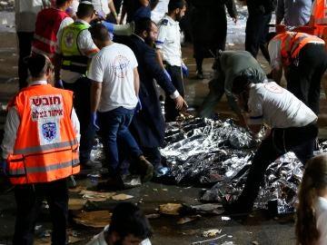 Al menos 44 muertos en una estampida durante una fiesta religiosa en Israel