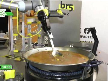 Paella creada por un robot