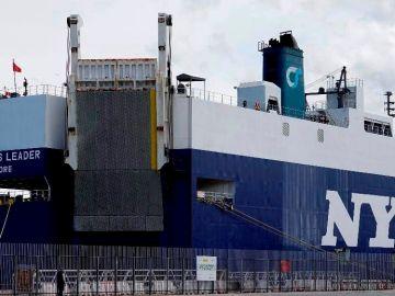 El carguero confinado en Vigo con tripulación india