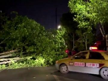 Al menos 11 muertos y 66 heridos por fuertes tormentas en el este de China