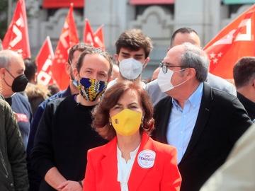 El Gobierno se suma a las movilizaciones por el Día del Trabajo