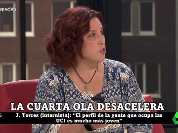 Raquel Rodríguez, médico de SUMMA y de Amyts