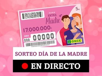 Sorteo ONCE Extra Día de la Madre: Comprobar resultados del cupón hoy, en directo