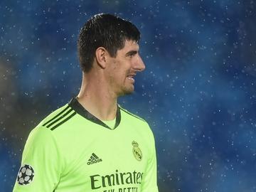 Courtois, con el Real Madrid