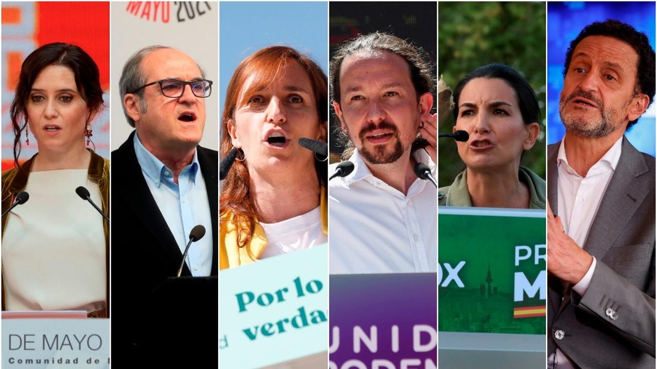 Acaba la campaña electoral del 4M: así serán los actos finales de cada partido