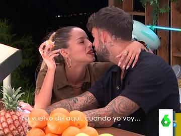 """Los besos de una pareja de Love Island que indignan a Dani Mateo: """"Es hasta antihigiénico"""""""