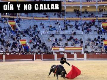 El novillero Guillermo García en el regreso de los toros a Las Ventas