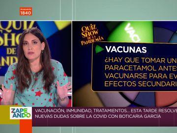Boticaria García explica la verdad sobre el uso del paracetamol y la aspirina con la vacuna: ¿evitan efectos secundarios?