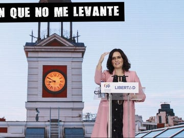 Isabel Díaz Ayuso en el cierre de campaña