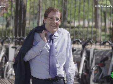 """La imitación de Joaquín Reyes a Almeida, """"la cara amable del PP"""":"""