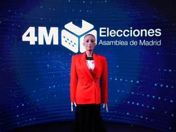 Así es Sophia, el robot que dará los datos de las elecciones en Madrid