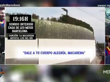 De 'La Macarena' a 'Gasolina': la música que sonó en casa de Leo Messi durante la conjura del Barça