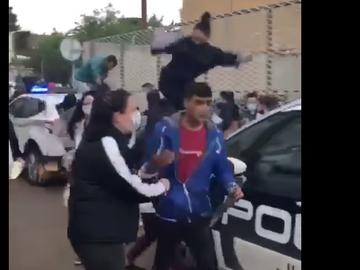 Graves altercados en Jumilla tras una protesta por el asesinato de Kevin Morales