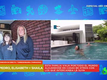 """Así viaja por el mundo a mitad de precio esta familia española alojándose en casa de otros: """"Esto es la hostia"""""""
