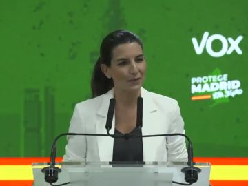 Rocío Monasterio, candidata de Vox en la Comunidad de Madrid