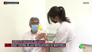 Seat, la primera empresa en vacunar a sus trabajadores, comienza su proceso inmunización