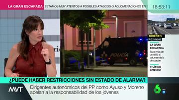 """Mamen Mendizábal advierte sobre señalar a los jóvenes por las fiestas en la calle: """"Cuando das por perdido a todo un colectivo, sí que está perdido"""""""