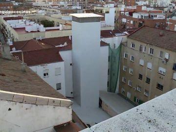 Chimenea de 27 metros