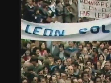 Manifestación por la autonomía de León (Archivo)