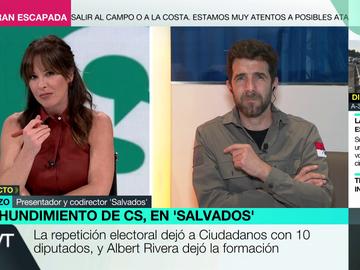 """Las contradicciones en Cs a la pregunta de Gonzo sobre por qué no hubo pacto con el PSOE: """"Las respuestas no coinciden"""""""