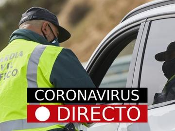 Nuevas medidas, restricciones y última hora por Coronavirus, hoy | COVID-19 en Madrid y resto de CCAA