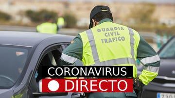 Imagen de un control de Tráfico de la Guardia Civil