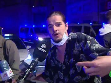 """Los indignantes comentarios de los jóvenes en fiestas de Barcelona: """"Si quiero infectar, infecto de COVID"""""""
