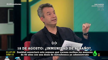 """El enfado de César Carballo por el retraso de la segunda dosis de Astrazeneca: """"Ya han decidido que van a poner Pfizer"""""""