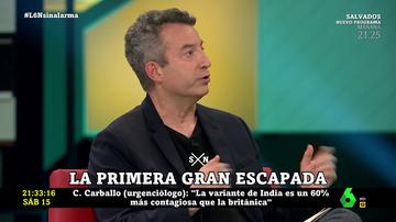 """César Carballo compara nuestra actitud frente al COVID con los """"colaboradores necesarios"""" del nazismo"""